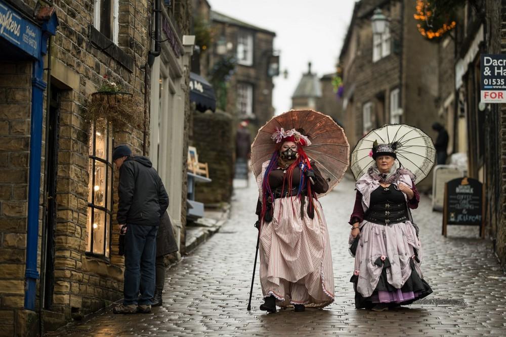 Ежегодный фестиваль стимпанка в Йоркшире