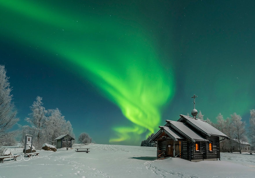Лапландия - это волшебное место