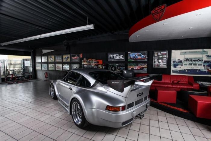 Ателье DP Motorsport построило реплику Porsche 935
