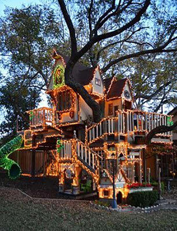 Классные дома на деревьях в разных уголках планеты