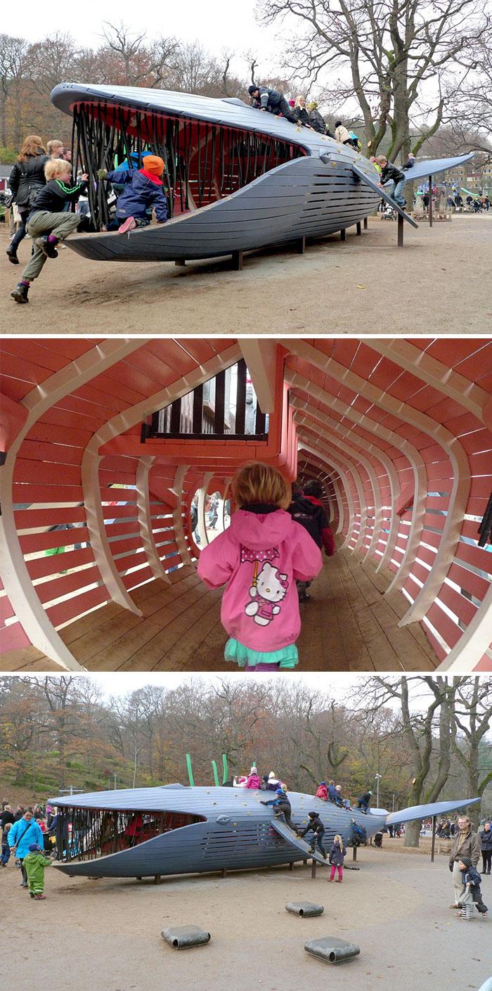 Креативные детские площадки от датских специалистов