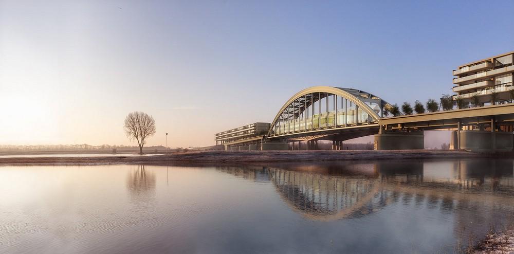 Старый мост в Нидерландах хотят превратить в жилой комплекс