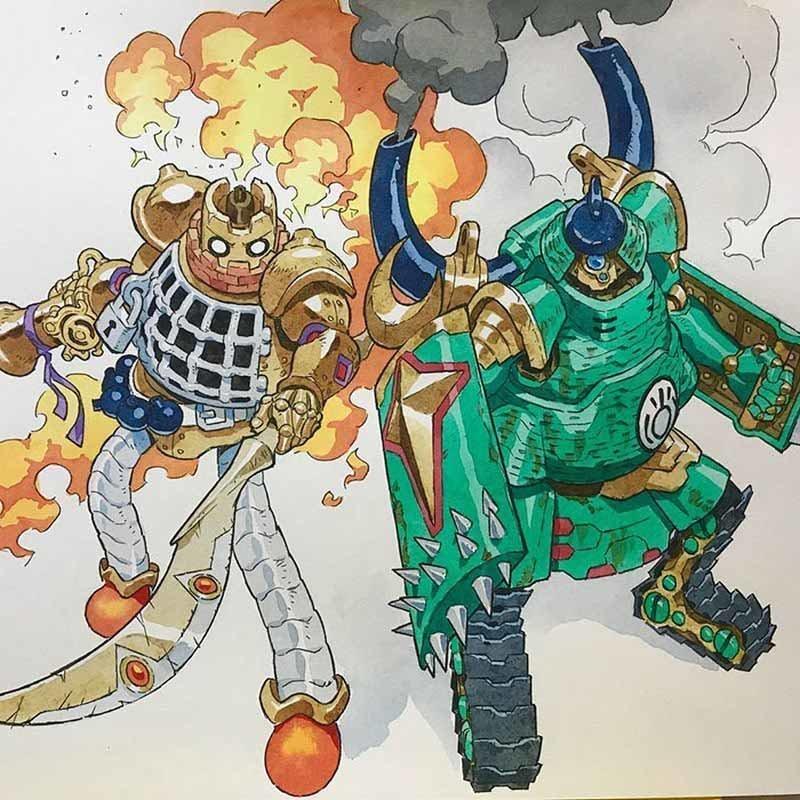 Художник превращает каракули своих сыновей в аниме-персонажей