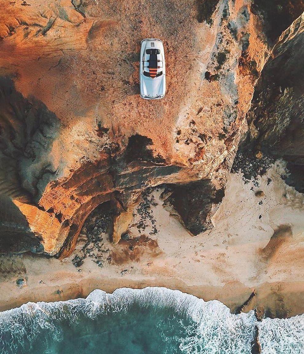 Интересные снимки с дронов от Dronestagram