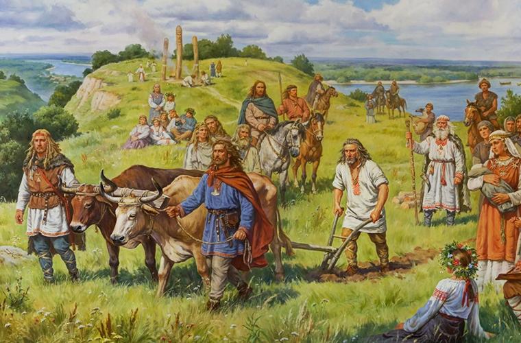 Каким был день древнего славянина