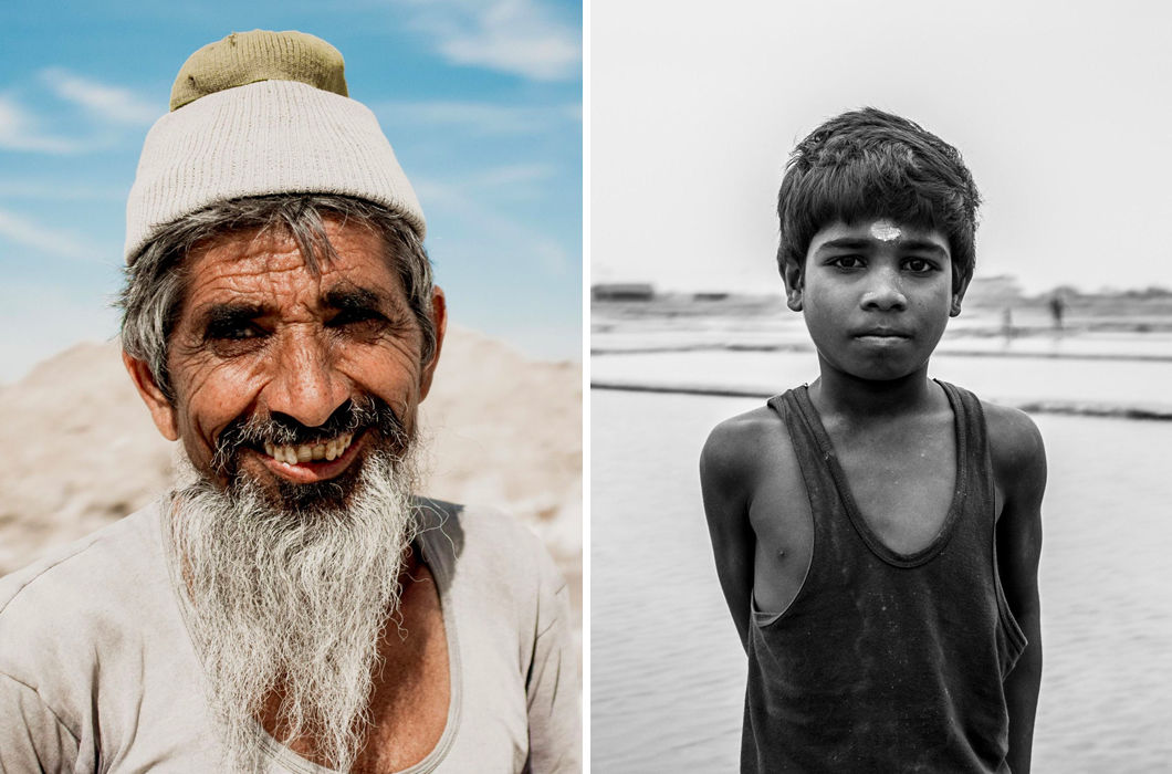Как добывают соль в Индии