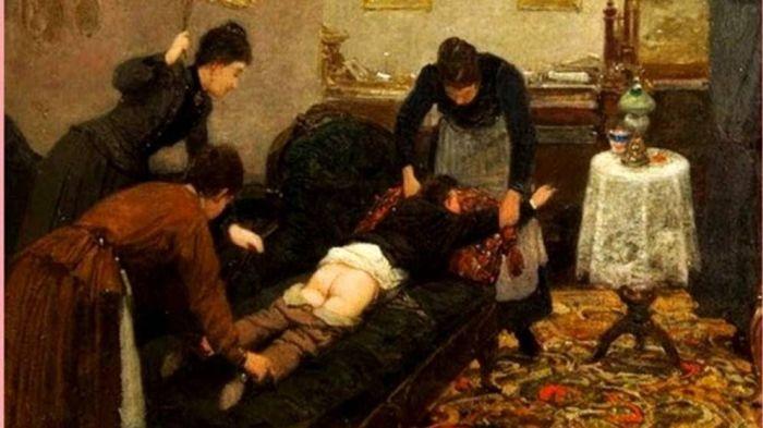 Как наказывали провинившихся детей на Руси