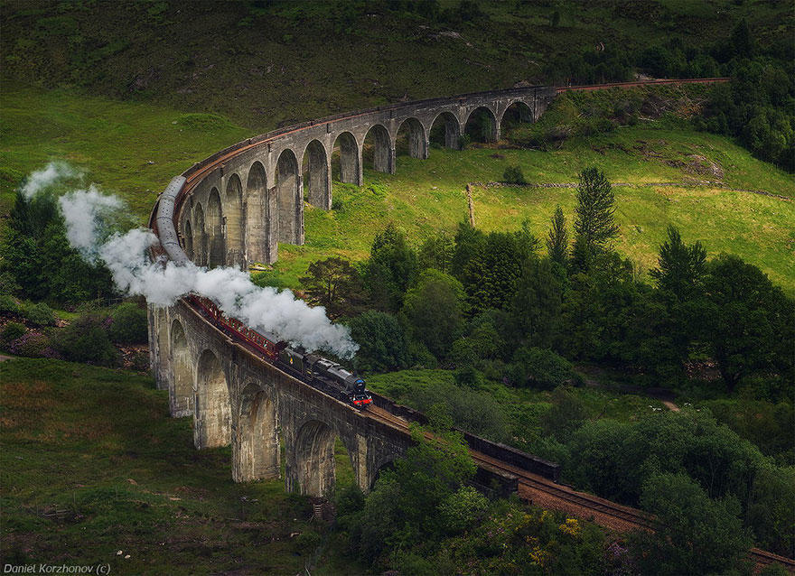 Незабываемые красоты Шотландии