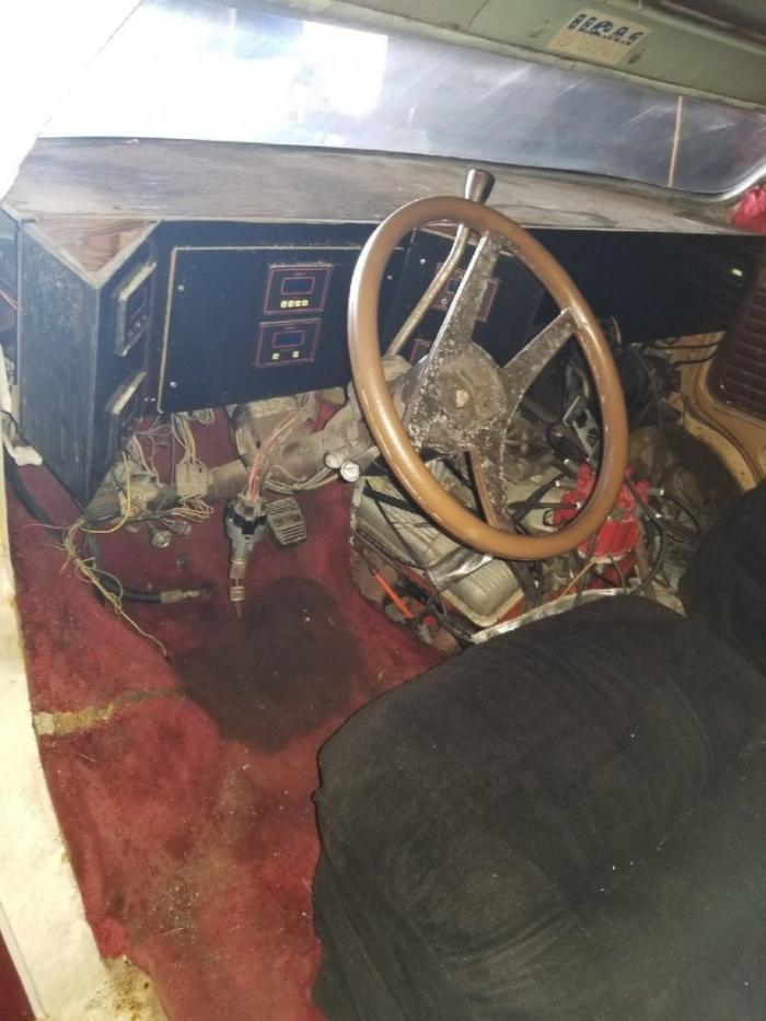 Незавершенный проект фургона GMC