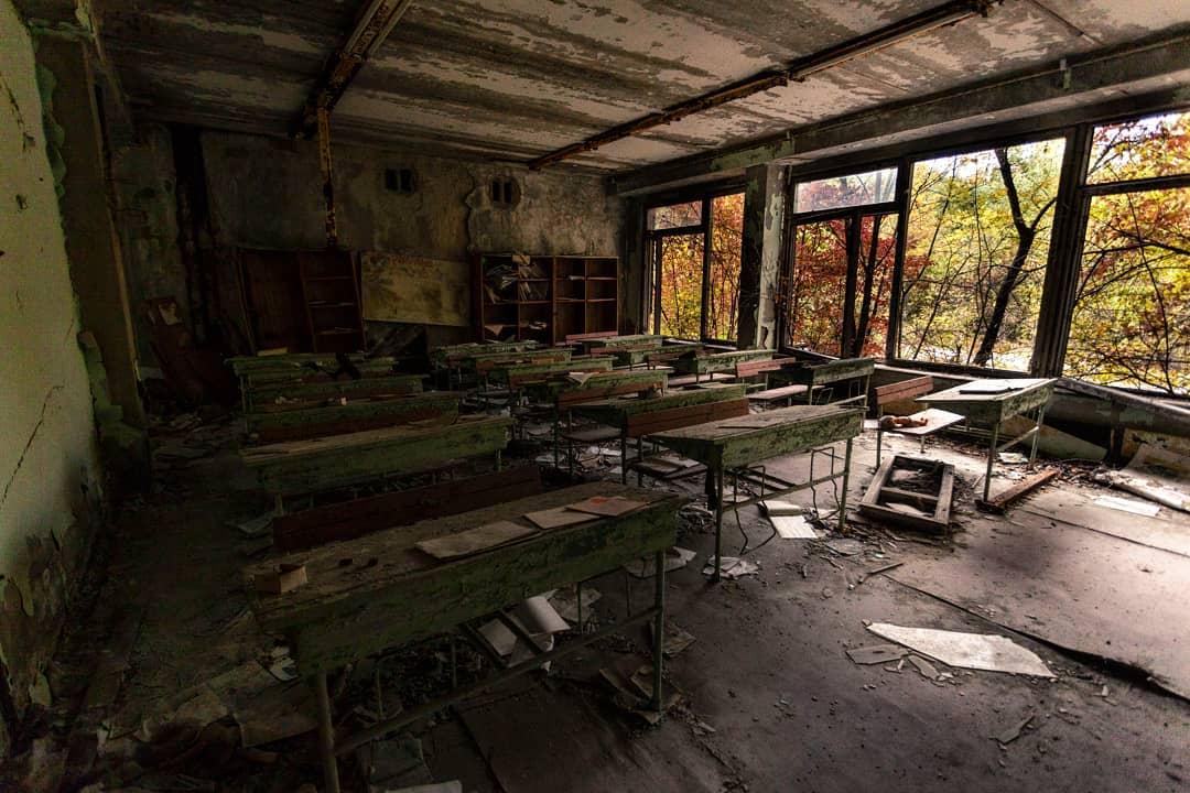 Чернобыльская зона отчуждения и другие места путешествий Джеффри Гарриока