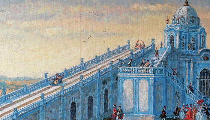 Катальная горка была популярна у простолюдинов и царей