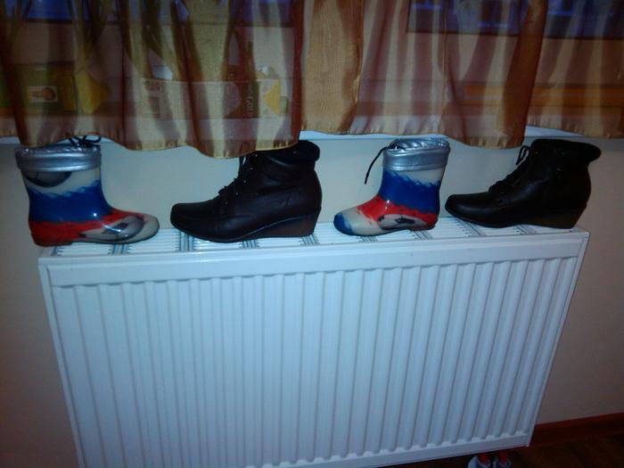 Правила по уходу за кожаной обувью зимой