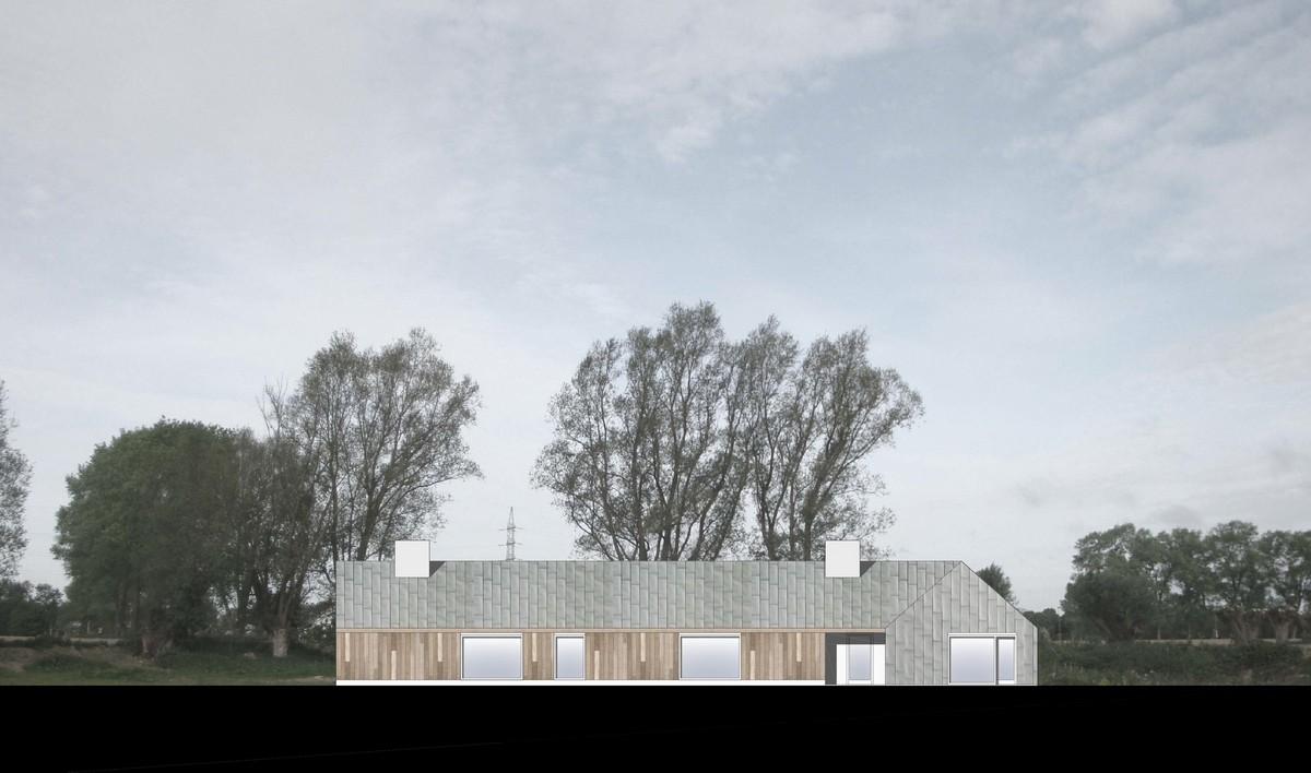 Простой сельский дом в Бельгии