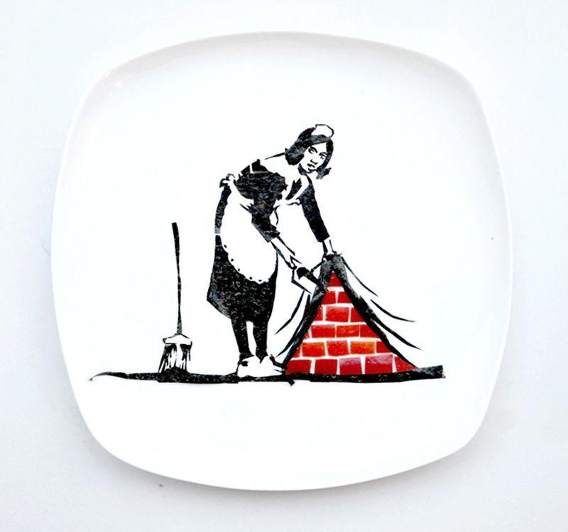 Художества на тарелке
