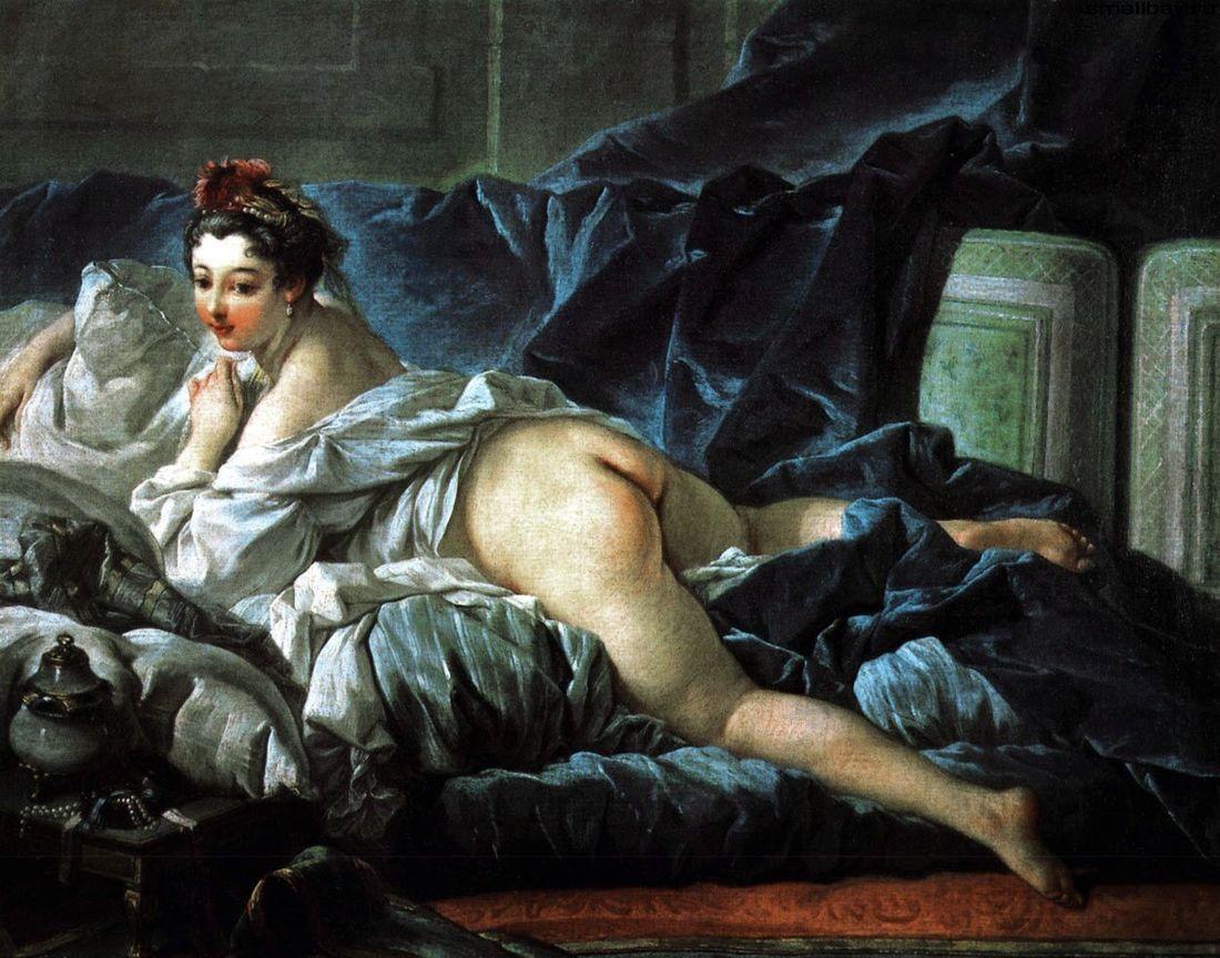 Картины Франсуа Буше на грани приличия