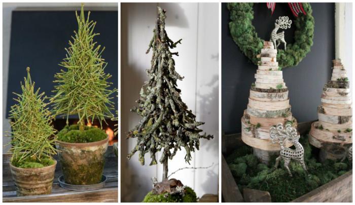 Сказочные елки своими руками из подручных материалов