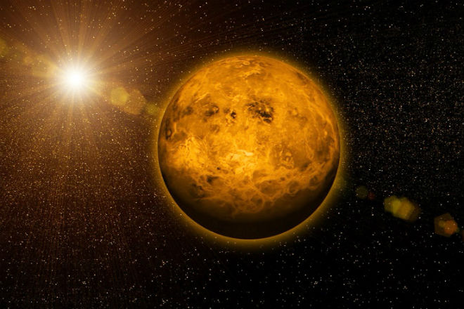 Венера - мир на орбите Солнца