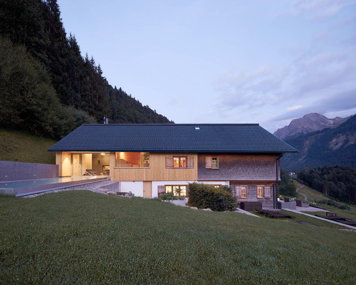 проекты домов австрия фото главных предназначений
