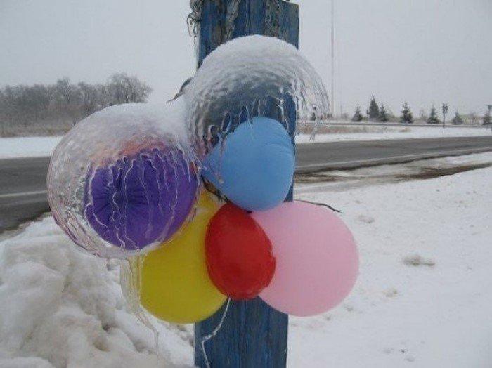 Красноречивые снимки прихода настоящей зимы