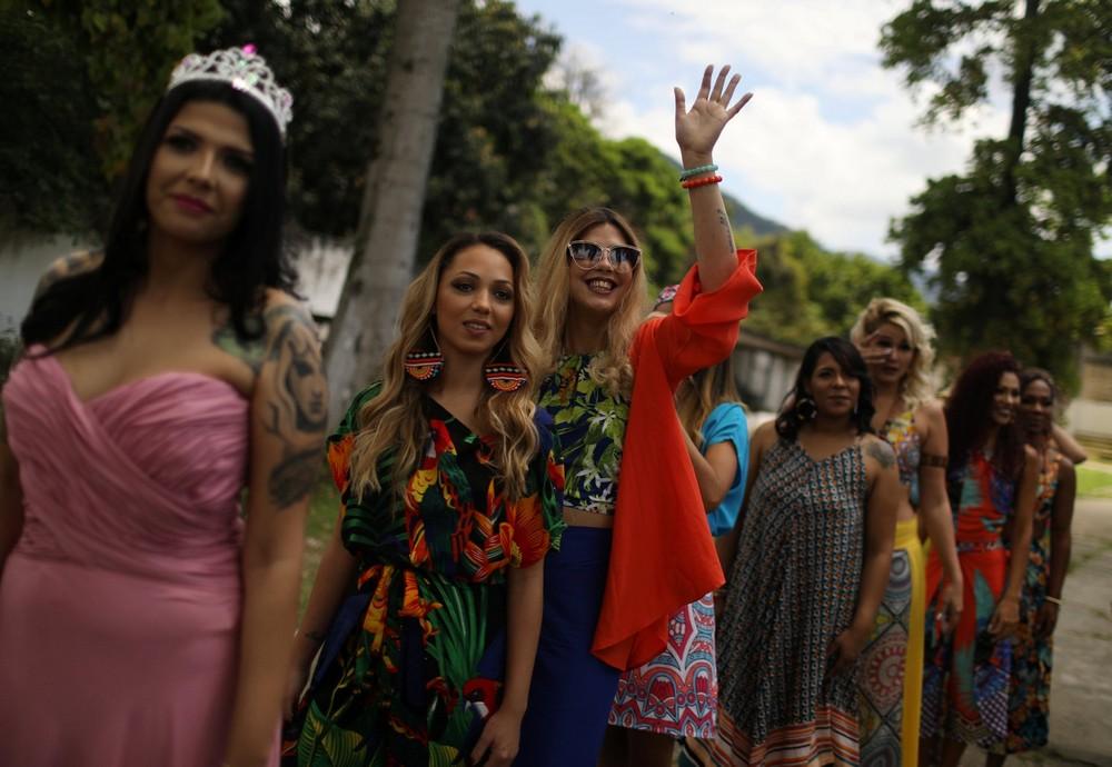 В бразильской тюрьме прошел ежегодный конкурс красоты