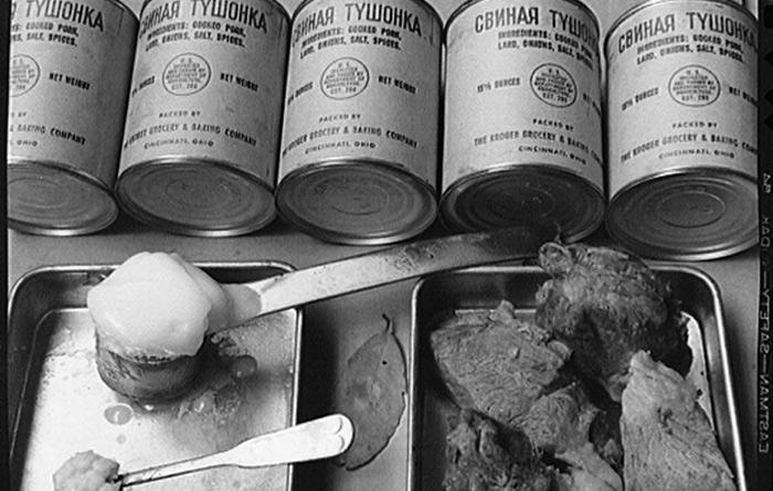 История тушенки в СССР