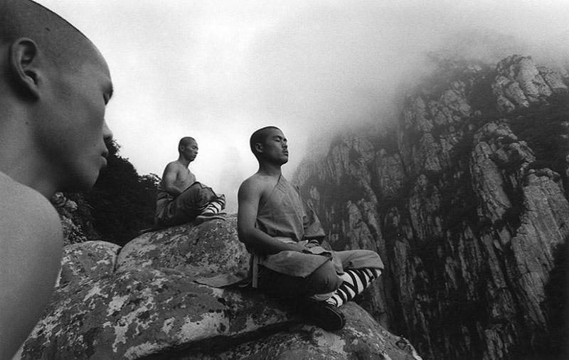 Монахи из монастыря Шаолинь