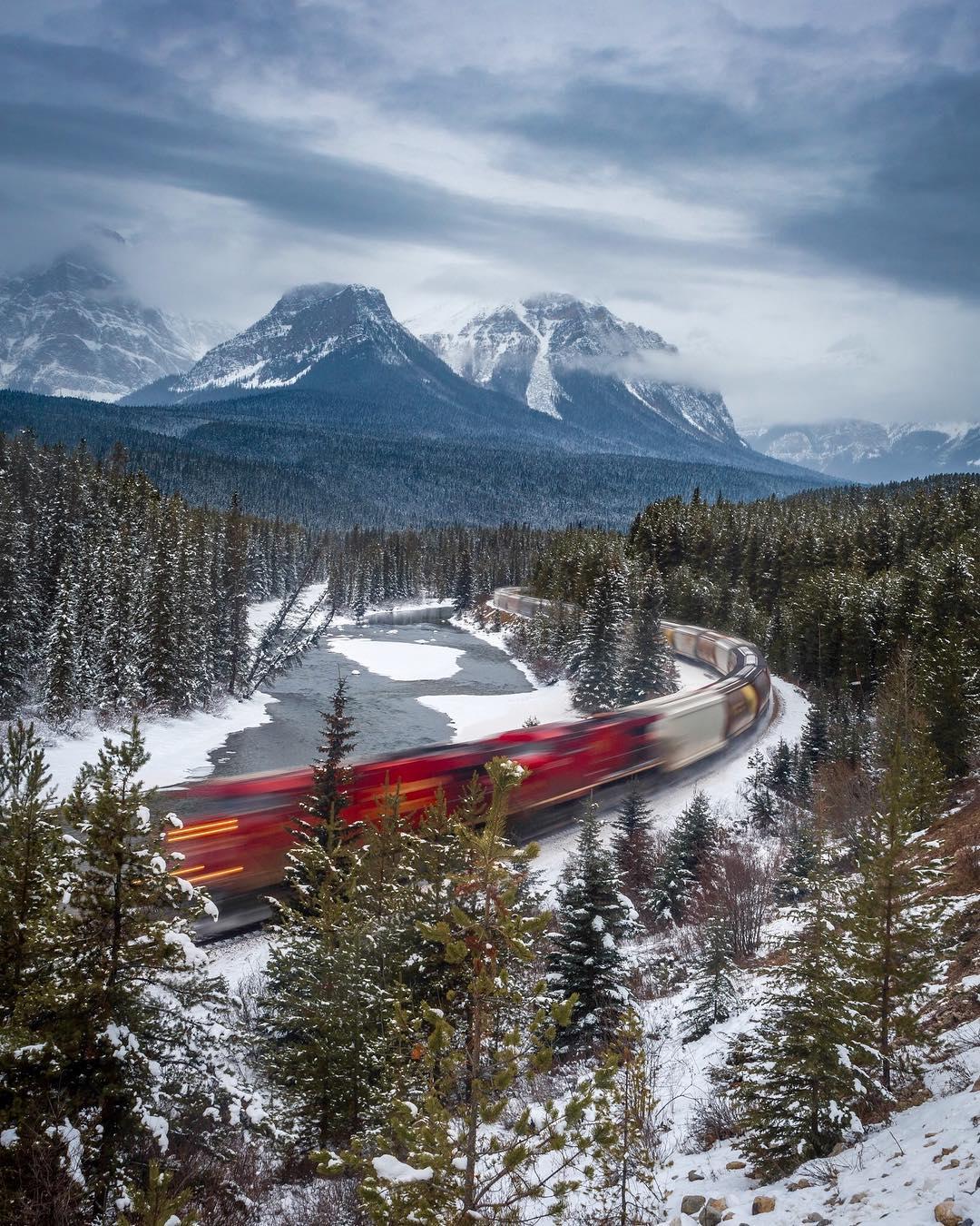 Пейзажи и природа Канады на снимках Робин Лоренсон