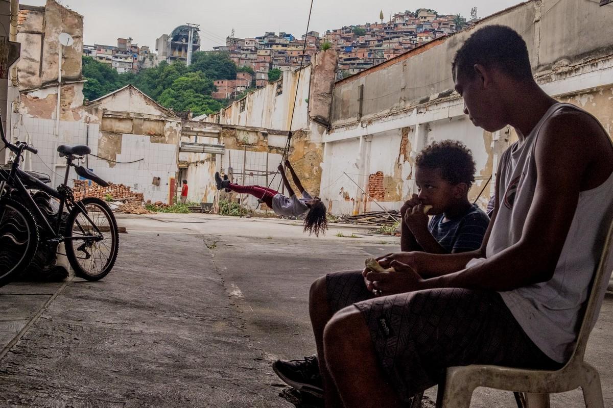 В Рио-де-Жанейро скваттеры захватывают пустующие здания