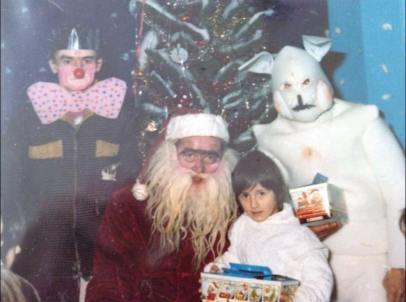 Рождественские семейные снимки, на которые неловко смотреть
