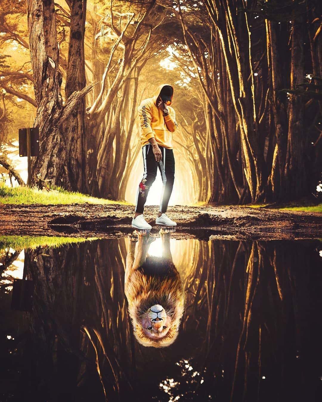 Сюрреалистические фотоманипуляции от Джастина Майна