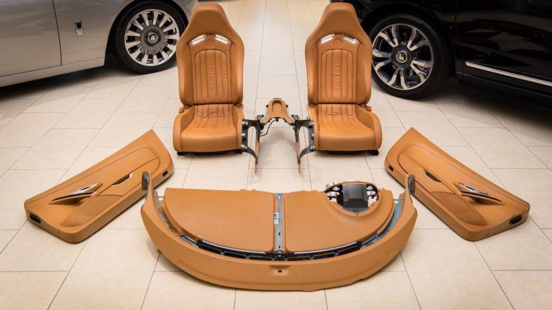 Владельцы Bugatti Veyron могут запросто поменять старый салон