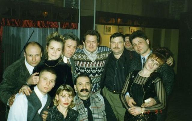 Снимки знаменитых людей в 90-е годы