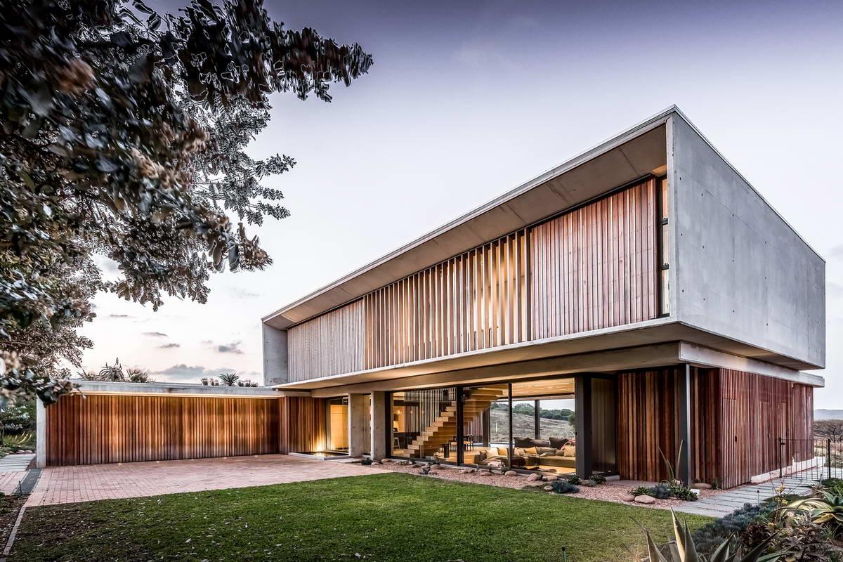 Современный дом в Южной Африке