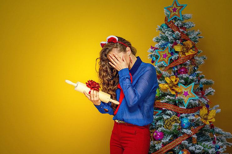 10 неудачных подарков на Новый год