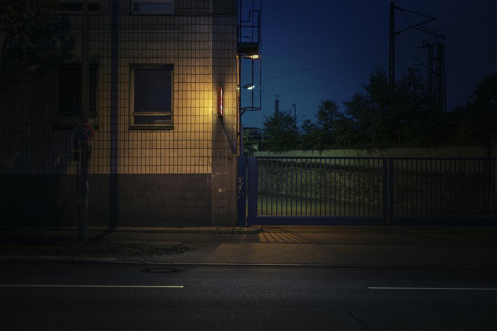 Гамбург ранним утром на снимках Марка Бройера