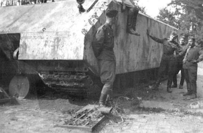История создания самого большого танка в Германии