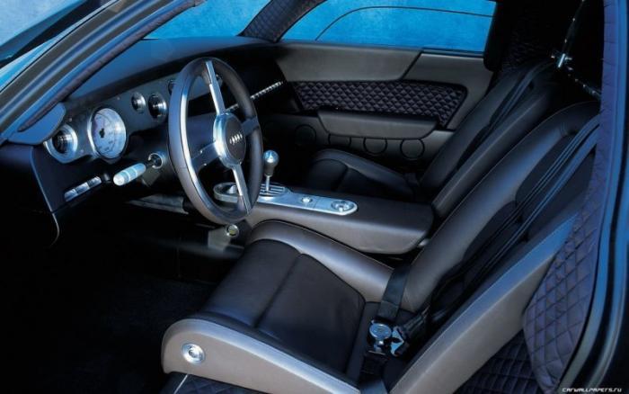 Audi Rosemeyer - концептуальный суперкар 2000 года