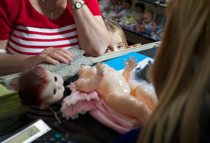 Как лечат кукол в Сиднее