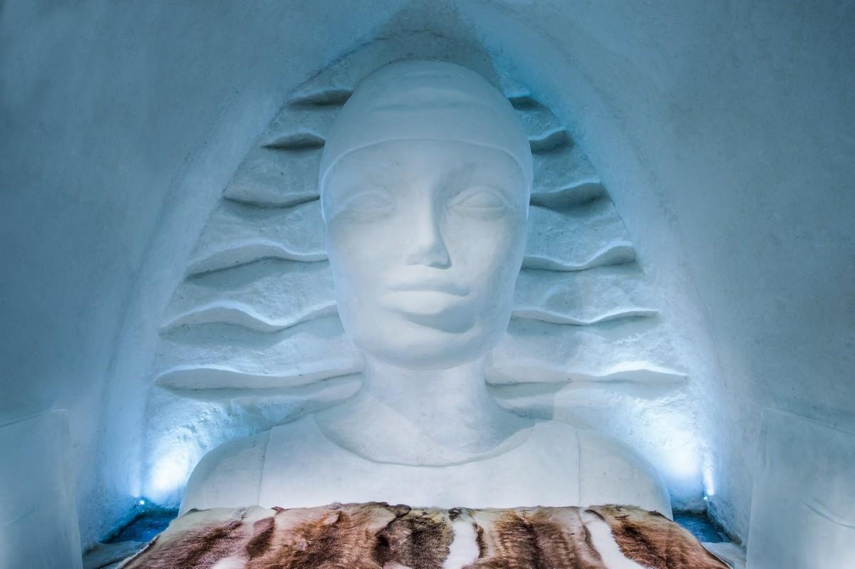 Новый Ice Hotel в шведской Лапландии