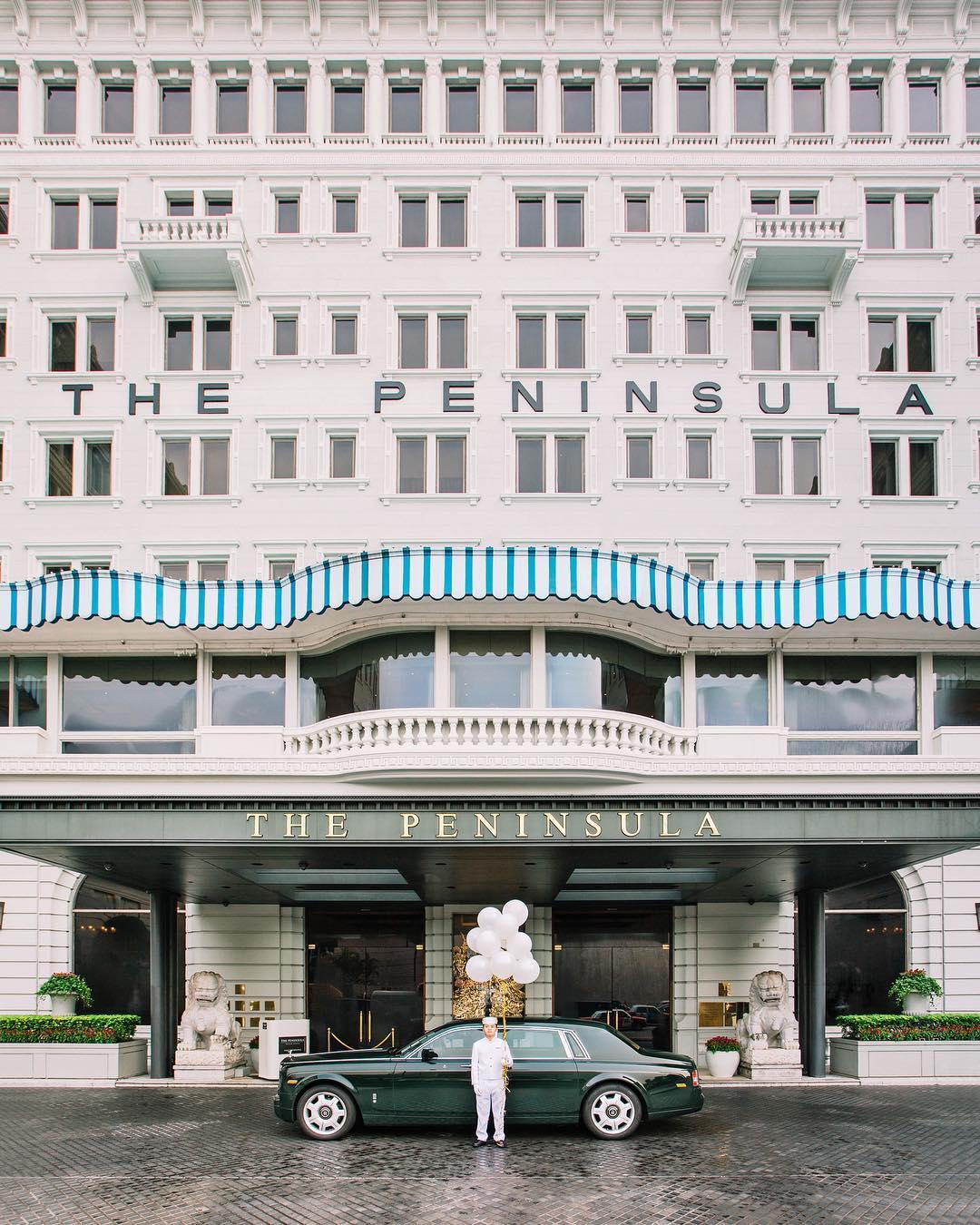 Архитектура и пейзажи Гонконга на снимках Виктора Ченга