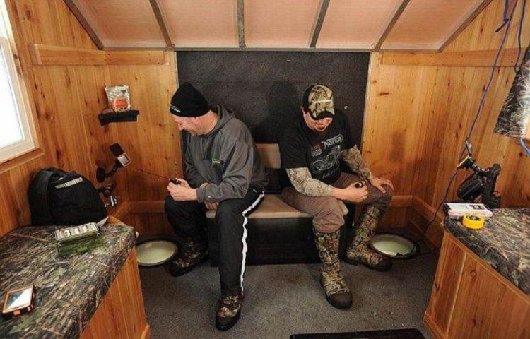 Мобильный домик для зимней рыбалки