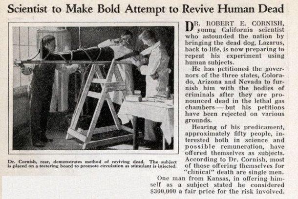 Самые сумасшедшие научные эксперименты