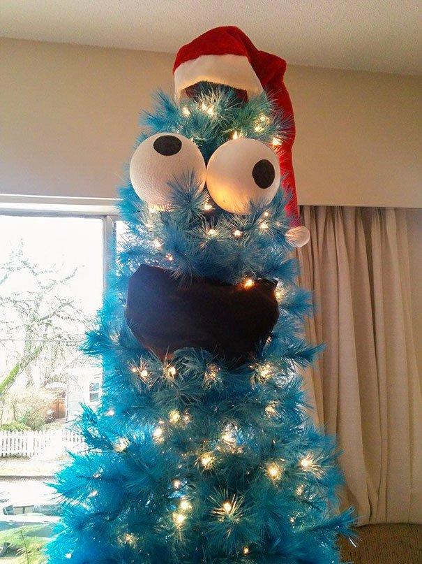 Подборка прикольных рождественских и новогодних ёлок