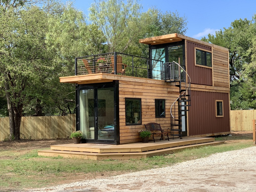 Дом из 2 контейнеров для 6 человек