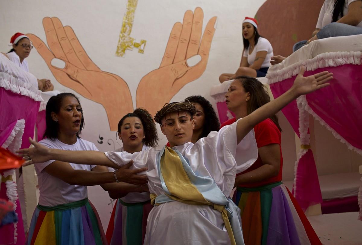 Праздники в бразильской женской тюрьме