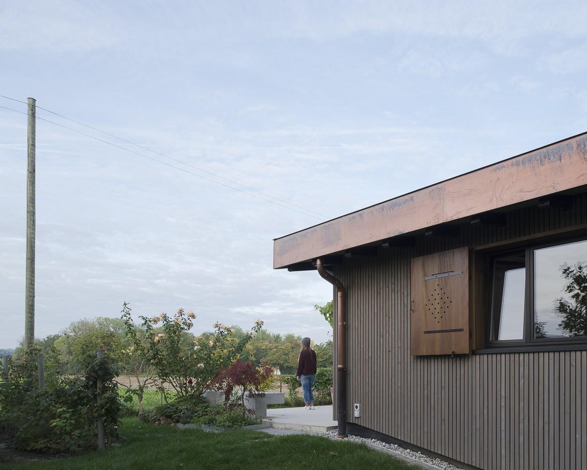 Реконструкция небольшого шале в Швейцарии
