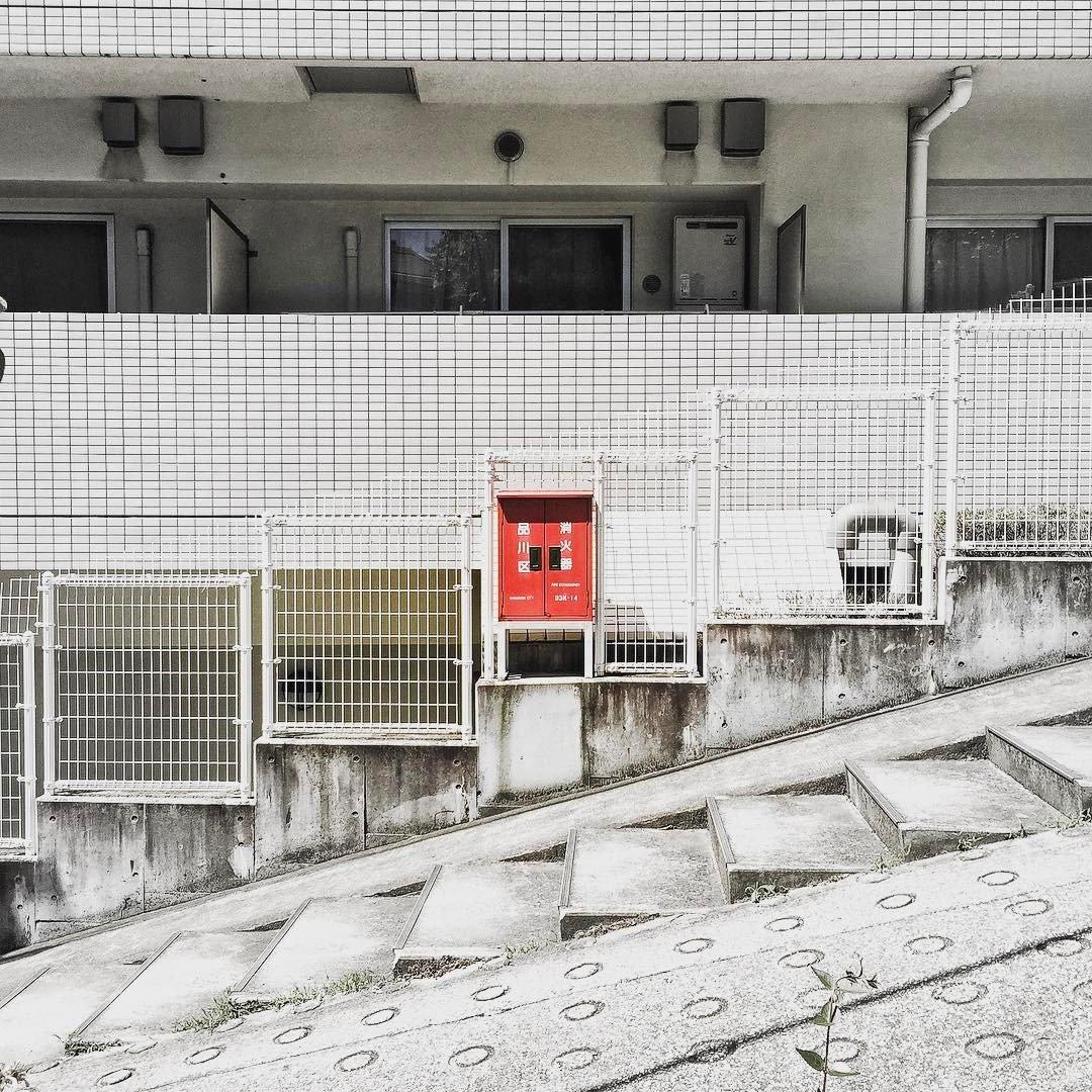 Instagram-аккаунт, посвящённый красоте японских стен
