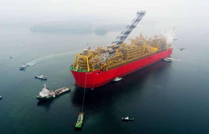 Как выглядит самое большое в мире судно