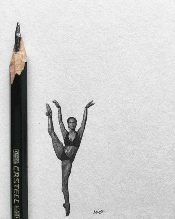 Крошечные рисунки от художника Ашиша Пателя