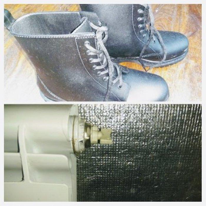 Простой способ утеплить обувь
